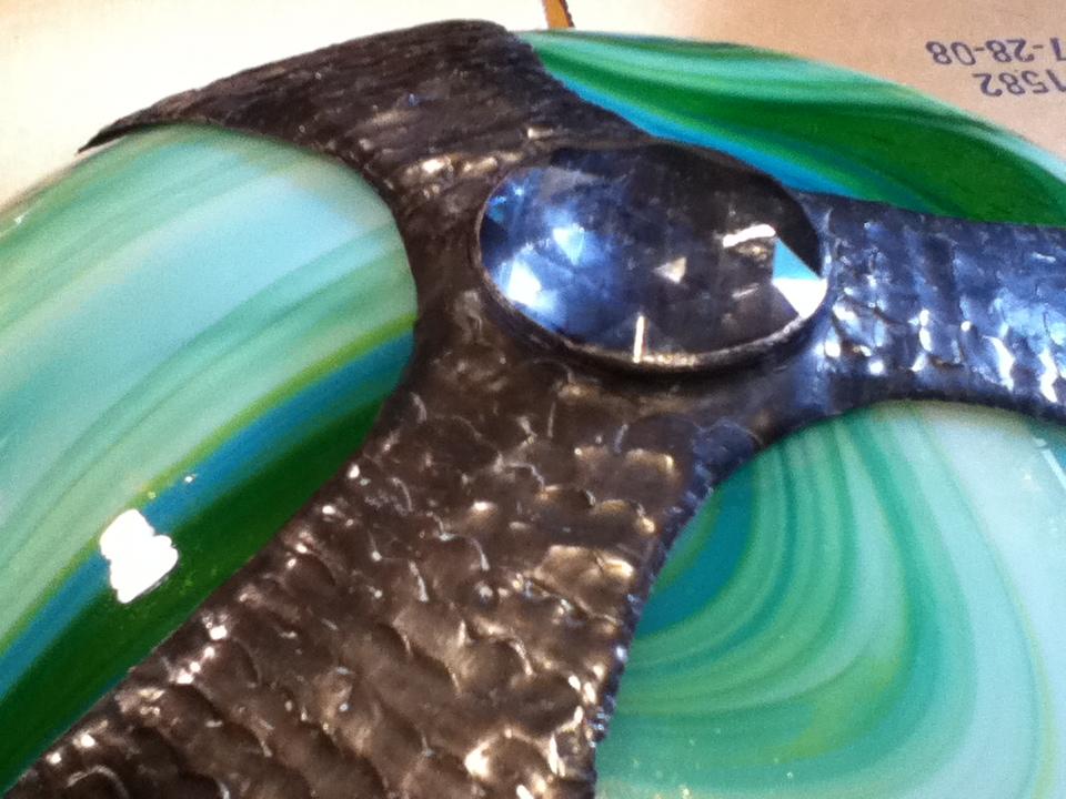 Tiffany lamp restoration