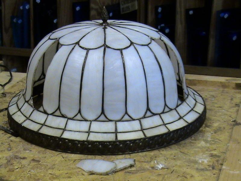Tiffany lamp repair
